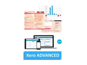 Xero Accounting Advanced Certified Online Training Course Logo - EzyLearn Bookkeeping Academy